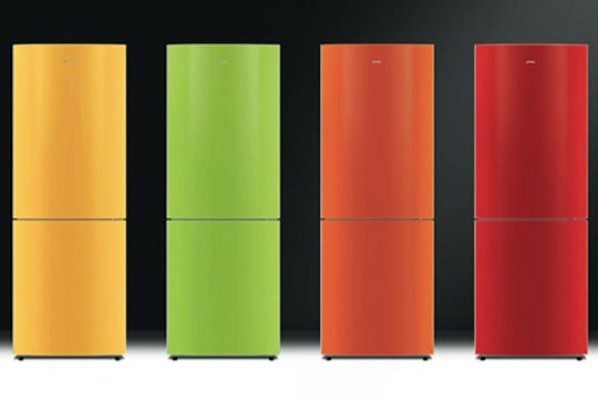 Цветные холодильники