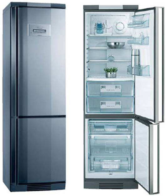 Холодильник aeg
