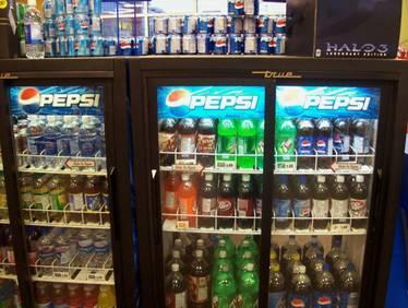 Холодильник Пепси