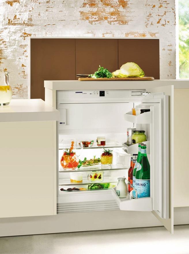 Холодильники встраиваемые под столешницу