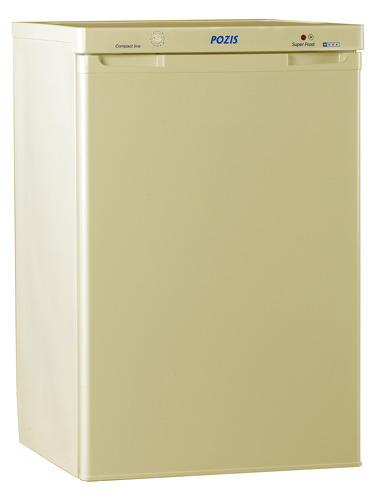 морозильная камера бежевого цвета фото