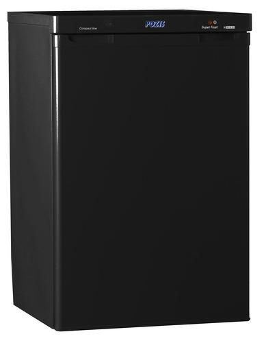 Морозильная камера черного цвета фото