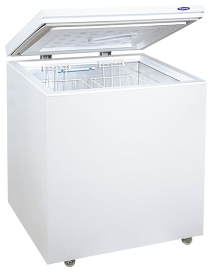 Мини морозильная ларь дома