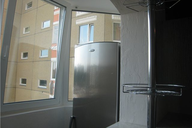 морозильная камера на балконе фото